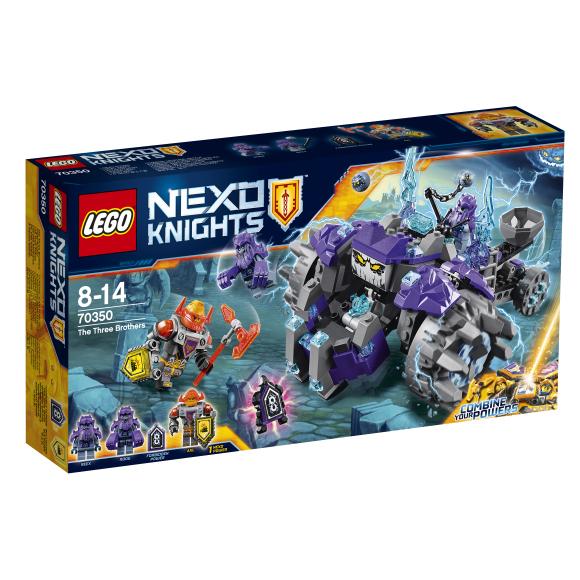 LEGO Nexo Knights kolm venda