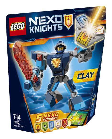 LEGO Nexo Knights lahinguvormis Clay