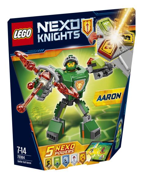 LEGO Nexo Knights Lahinguvormis Aaron