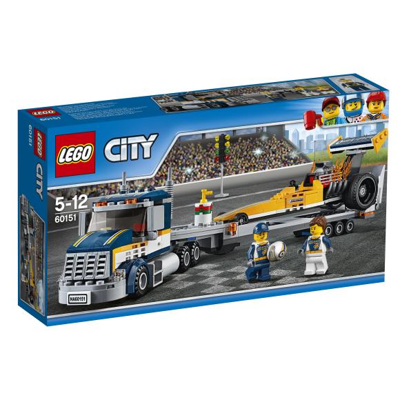 LEGO City Kiirendusauto transpordiveokiga