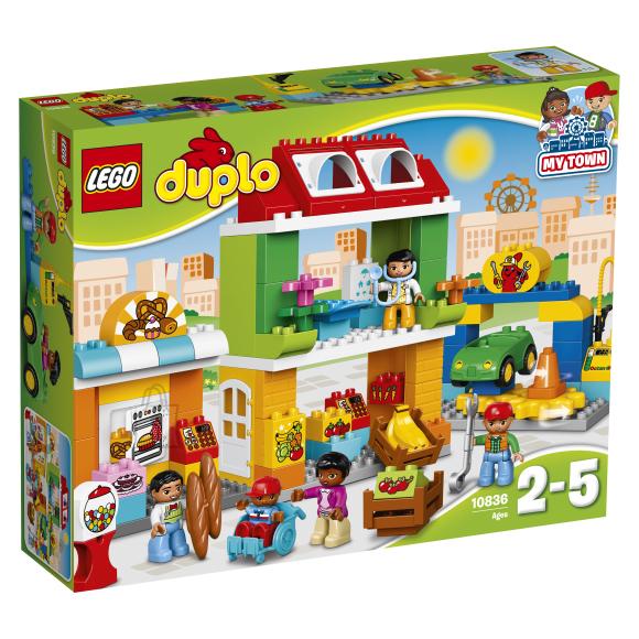 LEGO Duplo Linnaväljak 10836