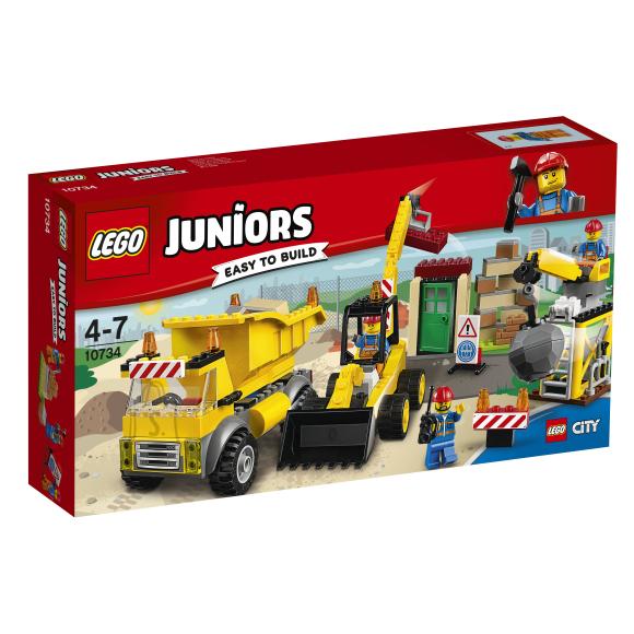 LEGO Juniors Lammutustööplats 10734