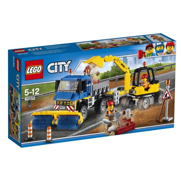 LEGO City Tänavapuhastaja ja ekskavaator