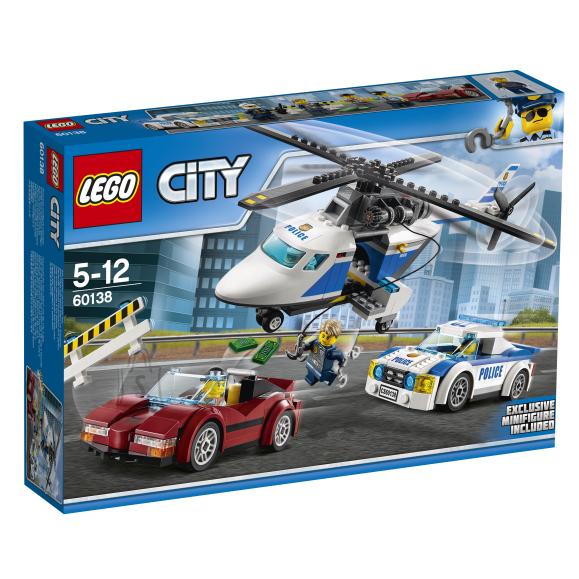 LEGO City Kiire tagaajamine