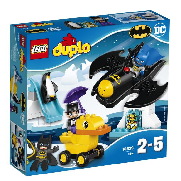LEGO Duplo Seiklused BatWingil
