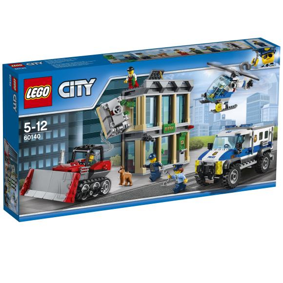 LEGO City Buldooseriga sissemurdmine