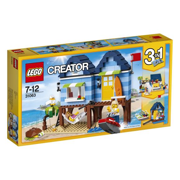 LEGO Creator 3-in-1 Rannapuhkus 31063