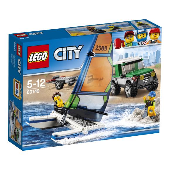 LEGO City 4x4 maastikuauto katamaraaniga