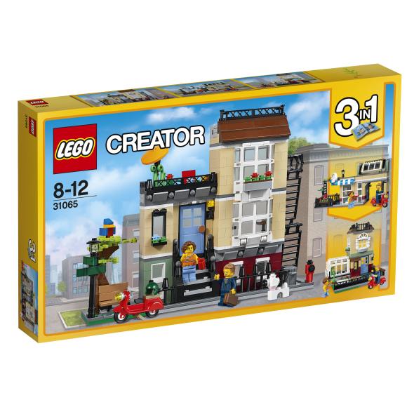 LEGO Creator Pargi tänava maja 31065