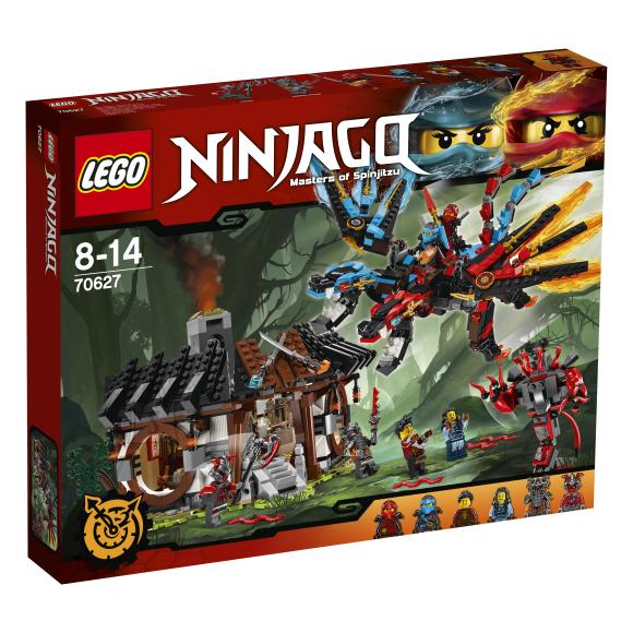 LEGO Ninjago Draakoni sepikoda 70627