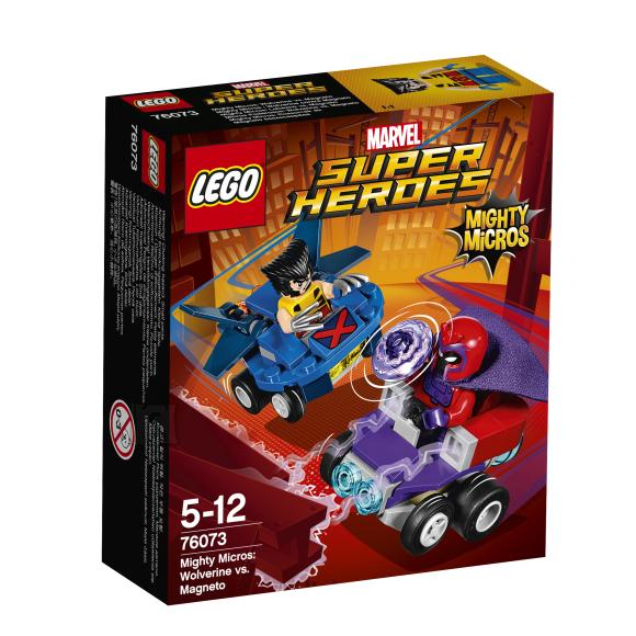 LEGO Marvel Super Heroes Võimsad mikrod: Wolverine vs. Magneto