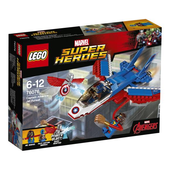 LEGO Marvel Super Heroes Kapten Ameerika lennuki tagaajamine