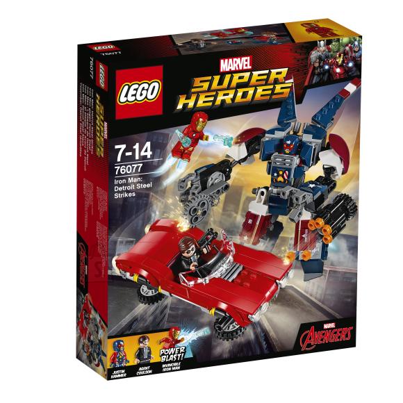 LEGO Marvel Super Heroes Raudmees: Detroidi teras ründab