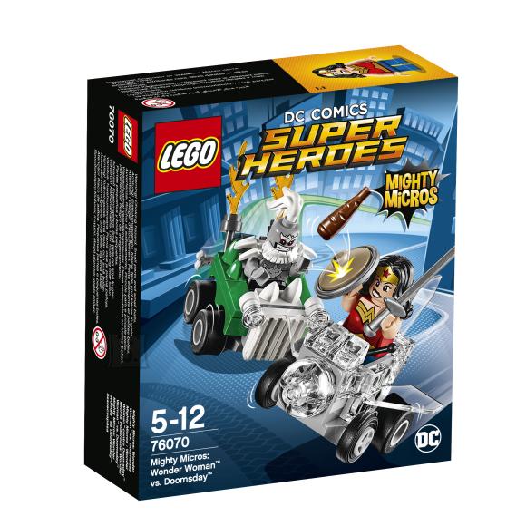 LEGO Super Heroes Võimsad mikrod: Wonder Woman vs. Doomsday