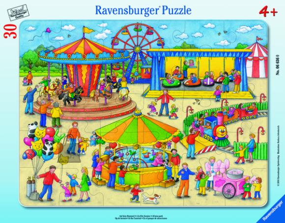 Ravensburger plaatpusle Lõbustuspark 30tk