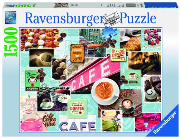 Ravensburger pusle Kohvi ja koogid 1500 tk