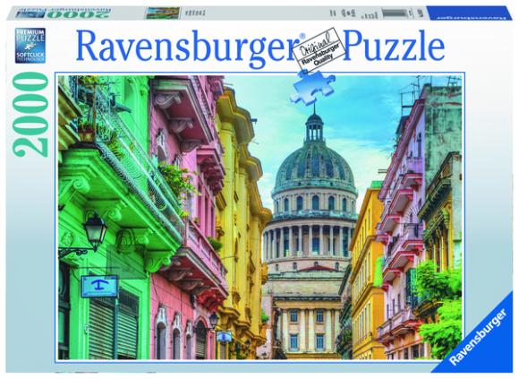 Ravensburger pusle Värviküllane Kuuba 2000 tk