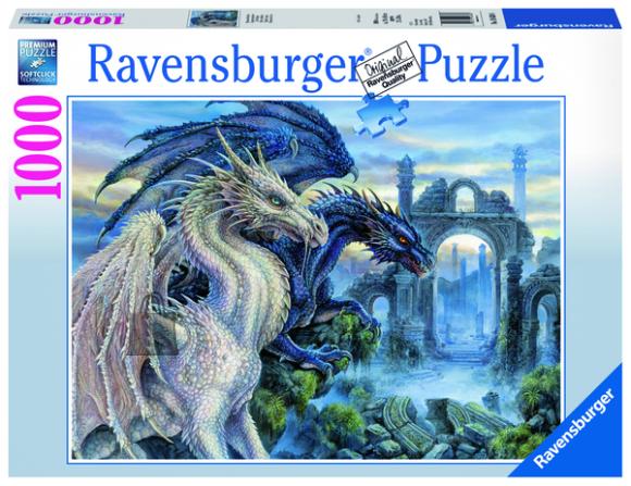 Ravensburger pusle Müstiline draakon 1000 tk
