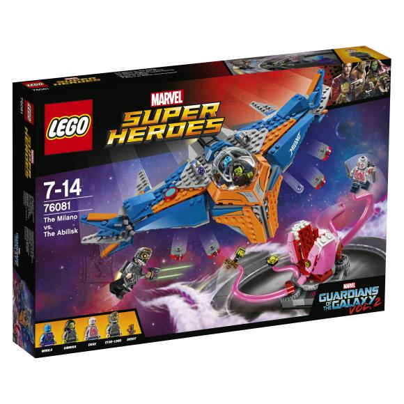 LEGO Marvel Super Heroes Milano vs. Abilisk