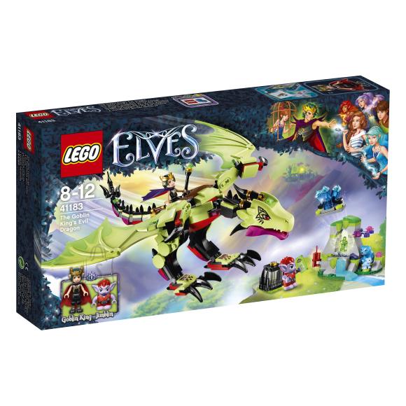 LEGO Elves Goblinite kuninga kuri draakon