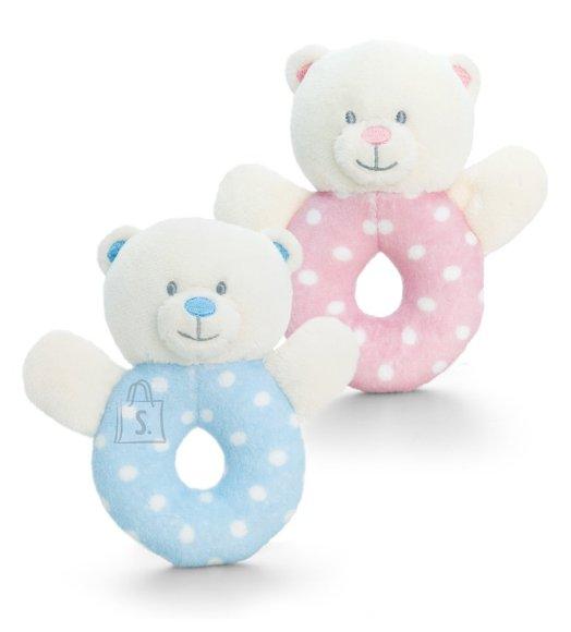 Keel Toys pehme beebikõristi Karu 12 cm