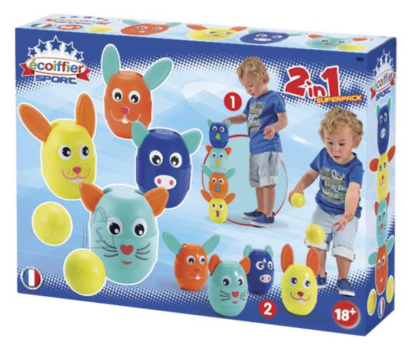 Ecoiffier sportmängud lastele 2in1