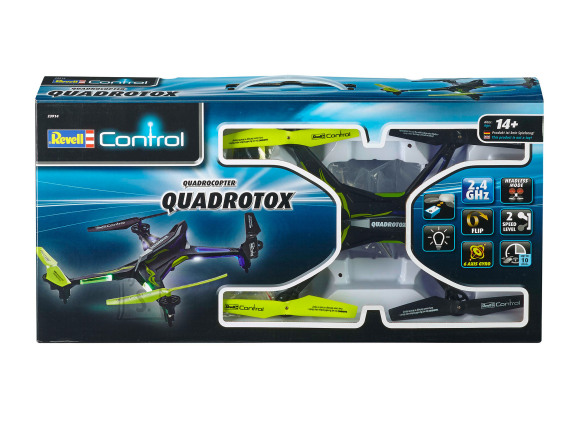 Revell Control Control droon Quadrotox sinine