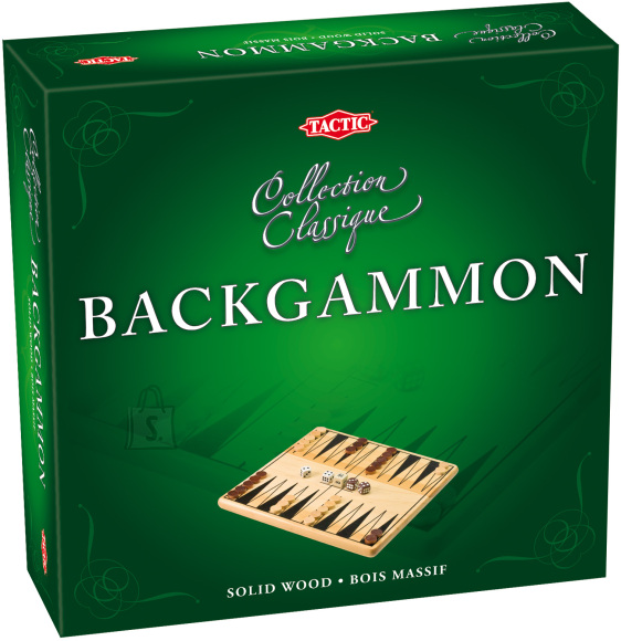 Tactic lauamäng Backgammon
