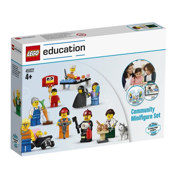 LEGO Education Erinevate ametite minifiguuride komplekt