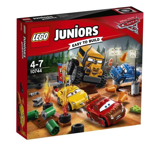 LEGO Juniors Pikseoru pöörane 8-ralli