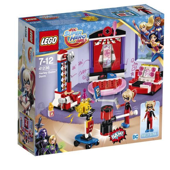 LEGO Super Hero Girls Harley Quinni ühiselamu