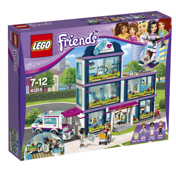 LEGO Friends Heartlake´i haigla