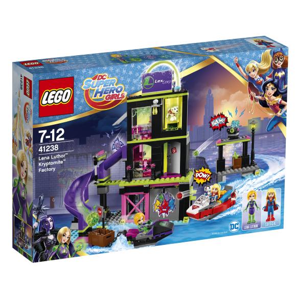 LEGO Super Hero Girls Lena Luthori krüptomiidi tehas