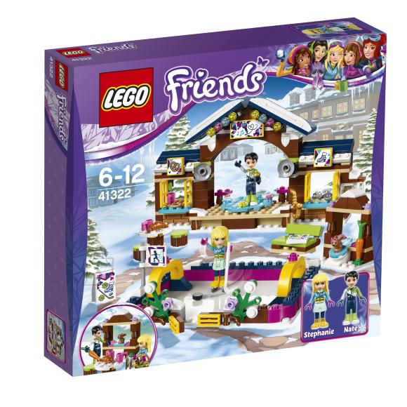 LEGO Friends Talvekeskuse uisuväli