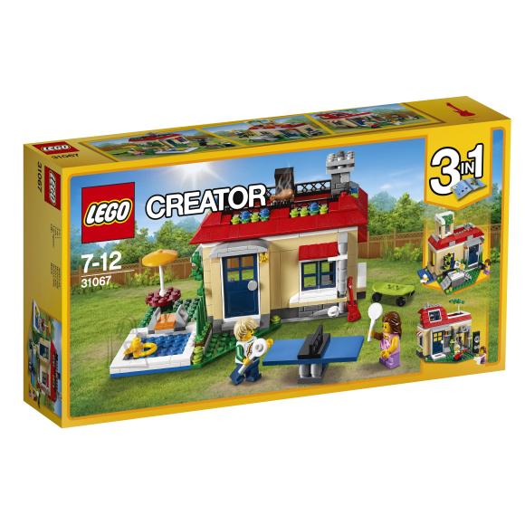 LEGO Creator Modulaarne basseinipuhkus