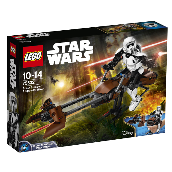 LEGO Star Wars Scout Trooper ja Speeder Bike