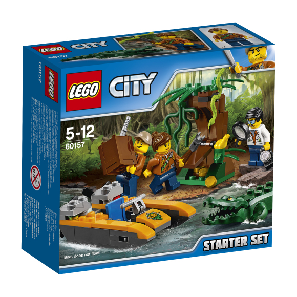 LEGO City Džungli põhikomplekt