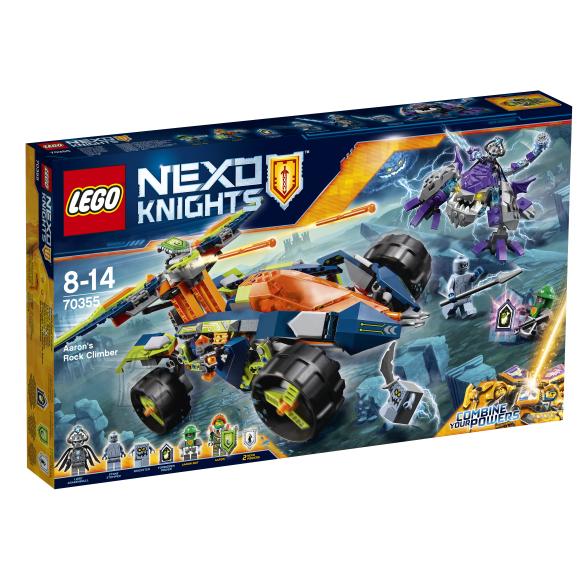 LEGO Nexo Knights Aaroni kivisõiduk