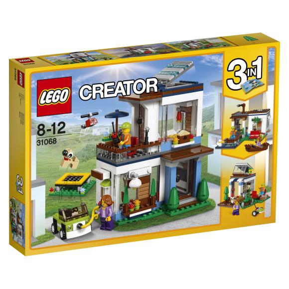LEGO Creator Moodulitest kaasaegne kodu