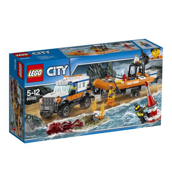 LEGO City Nelikveoga päästeauto
