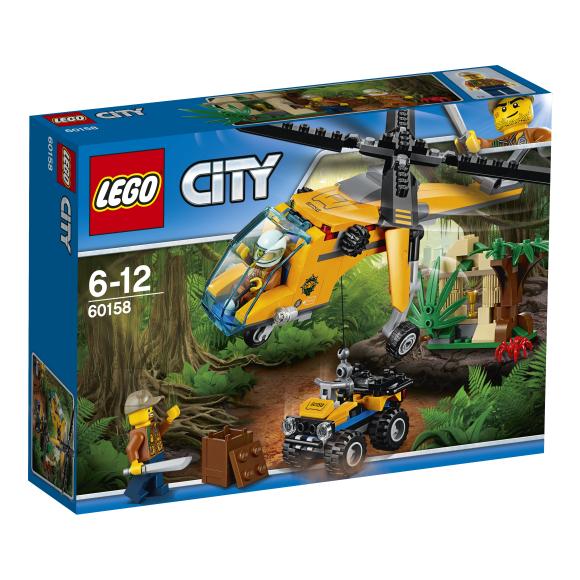 LEGO City Džungli kaubahelikopter