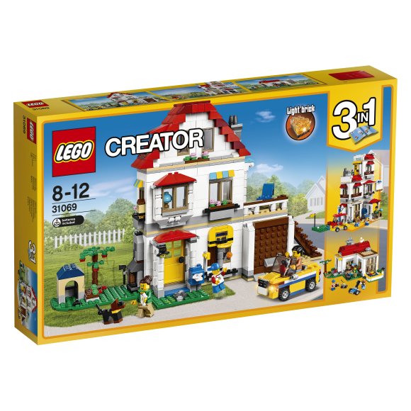 LEGO Creator Moodulitest perevilla