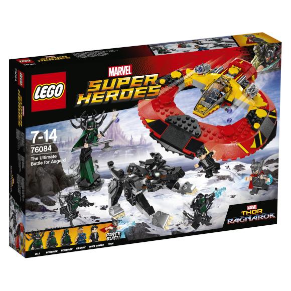 LEGO Super Heroes viimane lahing Asgardi nimel