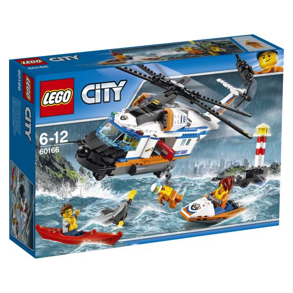 LEGO City Võimas päästehelikopter