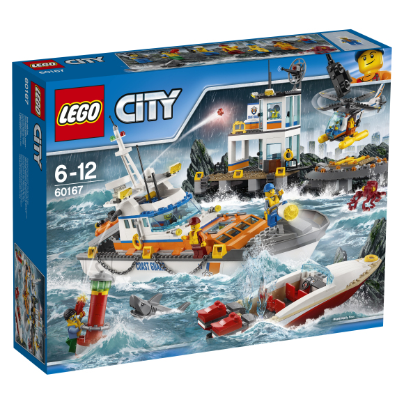 LEGO City Rannavalve peakorter