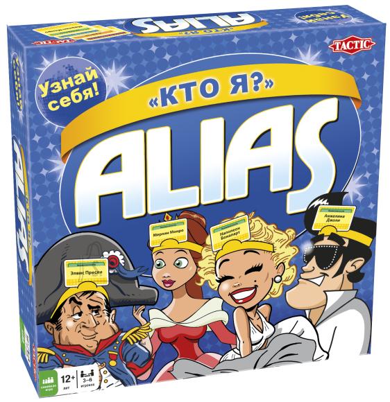 Tactic venekeelne lauamäng Alias Mina olen?