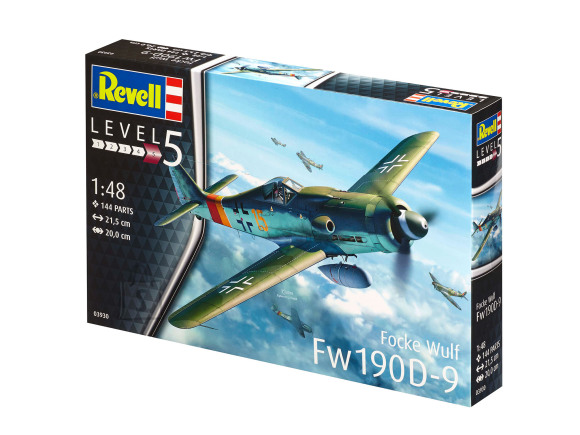 Revell mudellennuk Revell Focke Wulf Fw190 D-9 1:48