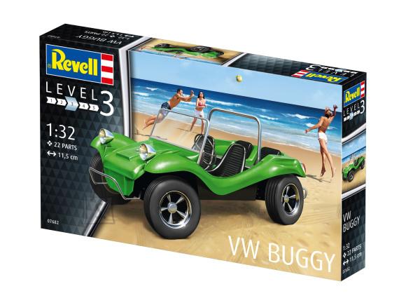 Revell mudelauto VW Buggy 1:32
