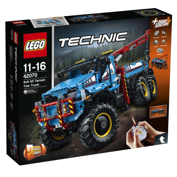 LEGO Technic Kuuerattaveoga maastikupuksiirauto