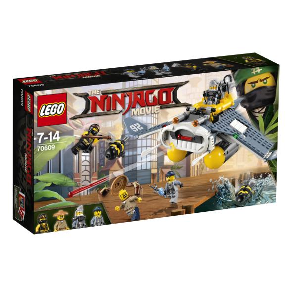 LEGO Ninjago Raikujuline pommitaja